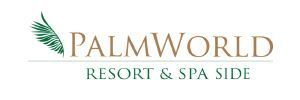 Palm World Resort Side Logo